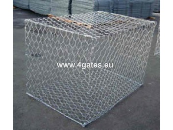 Twisted gabion box 2000*1000*1000mm; Mesh 80*100mm; Wire Ø 2,7/3,4mm