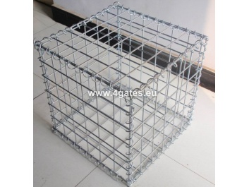 Welded gabion box; 2000*1000*1000mm/Galvanized after welding; Mesh 76*76mm