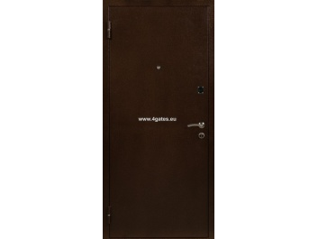 Steel doors CLASIC BROWN