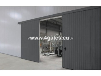 Suspended gate - insulated
